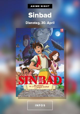 Anime Night 2019: Die Abenteuer des jungen Sinbad am 30.04.2019