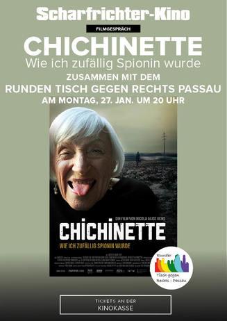Filmgespräch: Chichinette - Wie ich zufällig Spionin wurde