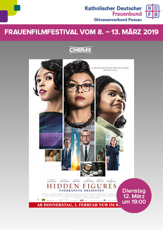 Frauenfilmfestival: Hidden Figures - Unerkannte Heldinnen