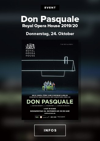 Live aus derm Royal Opera House in London: DON PASQUALE