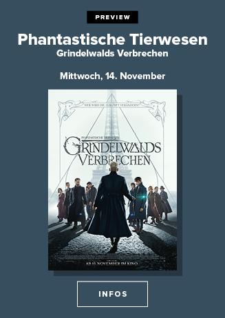 Preview: Phantastische Tierwesen - Grindelwalds Verbrechen
