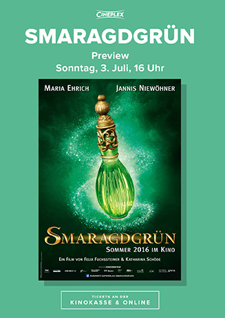 "160703 Preview ""Smaragdgrün"""