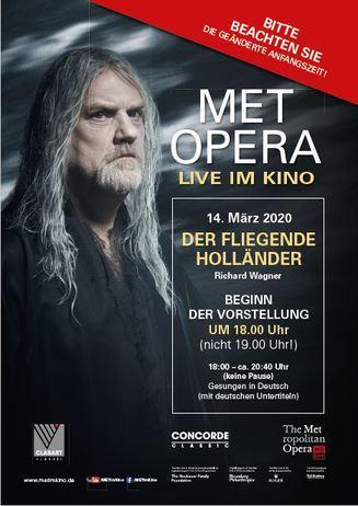 Metropolitan Opera 2019/2020: Der fliegende Holländer