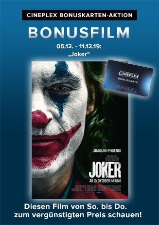 "Bonusfilm: ""Joker"""