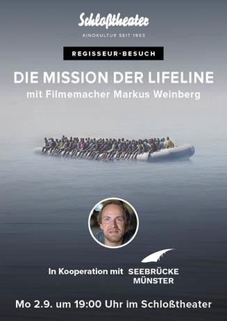 DIE MISSION DER LIFELINE mit Regisseur Markus Weinberg