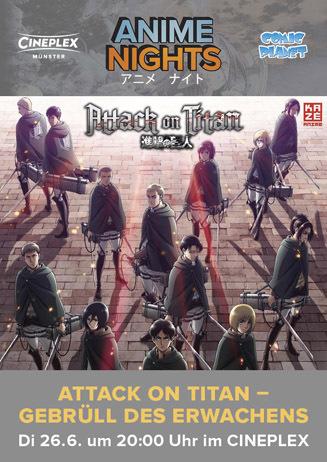 Anime Night: Attack on Titan - Gebrüll des Erwachens Teil 3