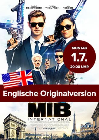 """Englische OV: """"Men in Black: International"""""""