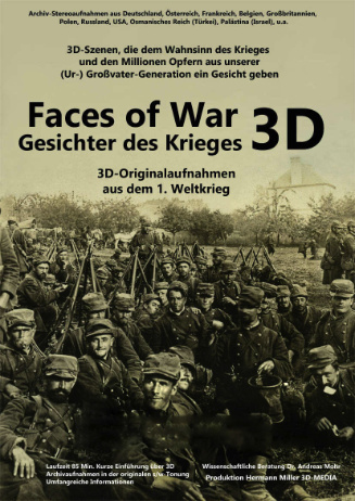 Faces of war 3D