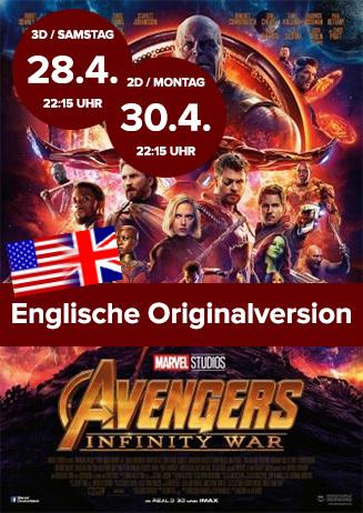 Englische Originalversion: Avengers Infinity War