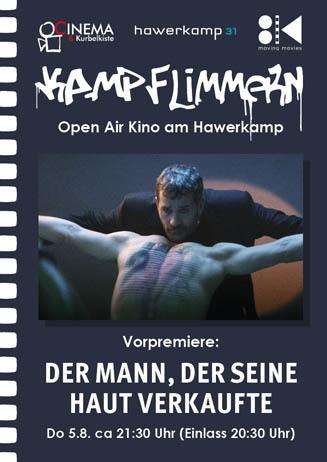 Kamp-Flimmern: DerMann,derseineHaut verkaufte