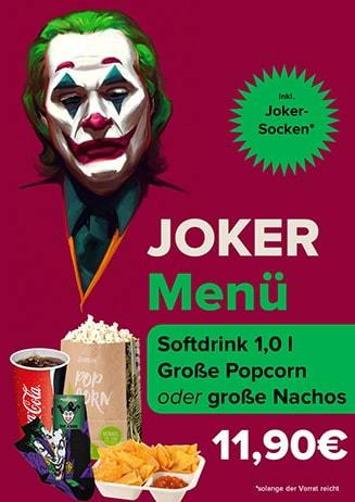 Aktions-Menü Joker