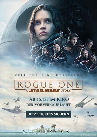 """Vorverkauf von """"Rogue One - A Star Wars Story"""""""