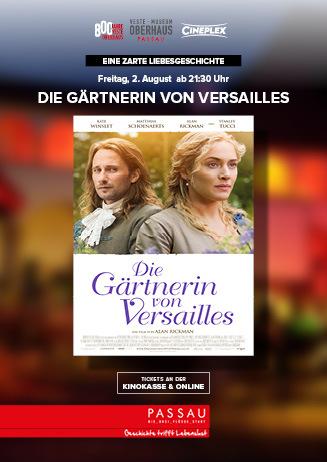 """Sommerkino 2019: """"Die Gärtnerin von Versailles"""""""