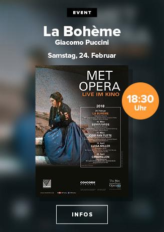 MET Opera: La Boheme (Puccini)