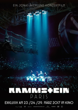 music on screen: RAMMSTEIN PARIS