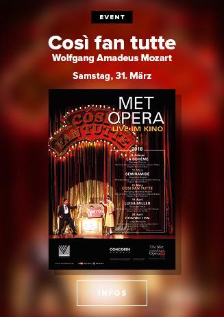 MET-Oper 2017/2018: Cosi Fan Tutte (LIVE-HD)
