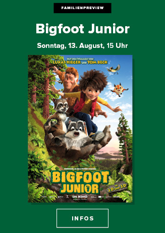 Familienpreview: Bigfoot Junior