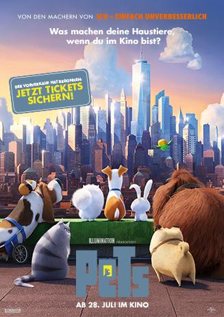 Sicher dir jetzt deine Tickets für PETS !
