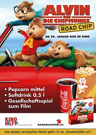 """160128 Kino hilft """"Alvin und die Chipmunks - Road Chip"""""""