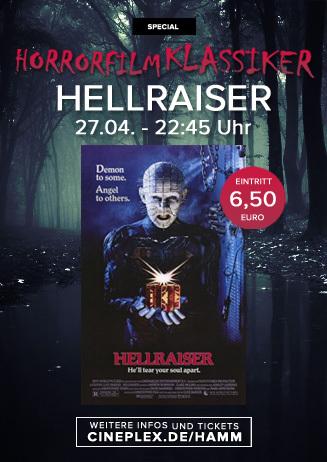 Hellraiser - Das Tor zur Hölle | Horror Klassiker