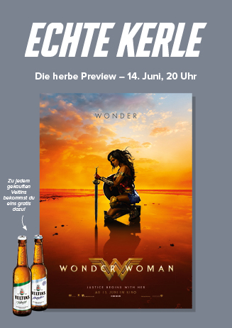 ECHTE KERLE: Wonder Woman in 3D
