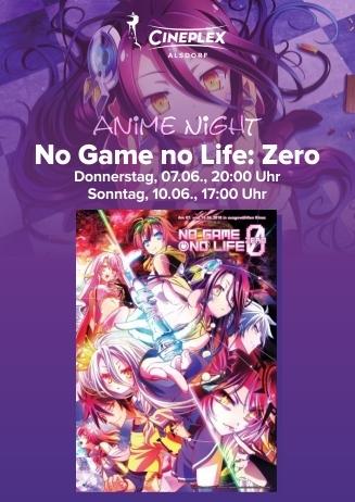 Anime Night: No Game no Life: Zero