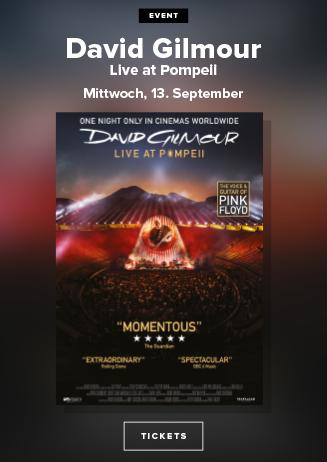 David Gilmour Pompej