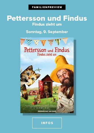9.09. - Familienpreview: Findus zieht um