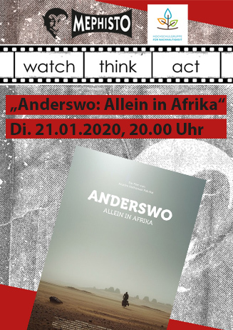 watch.think.act: Anderswo: Allein in Afrika