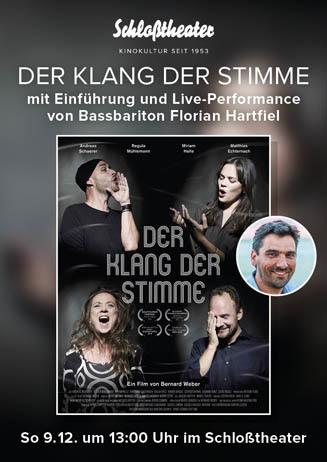 DER KLANG DER STIMME mit Bassbariton Florian Hartfiel