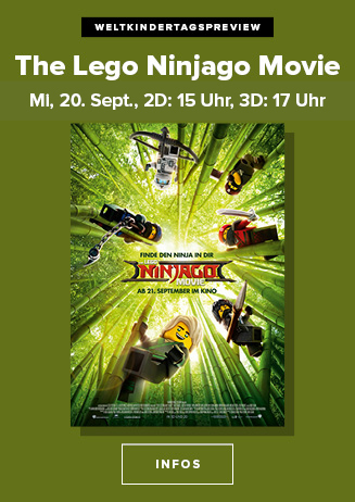 "170920 Weltkindertagspreview ""The LEGO Ninjago Movie"""