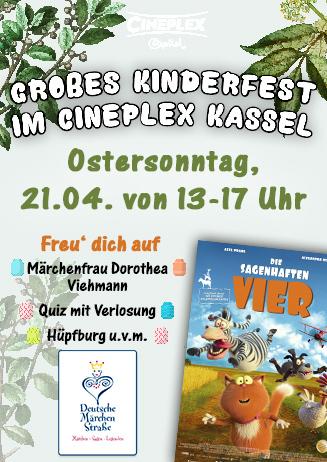 Großes Kinderfest im Cineplex Kassel