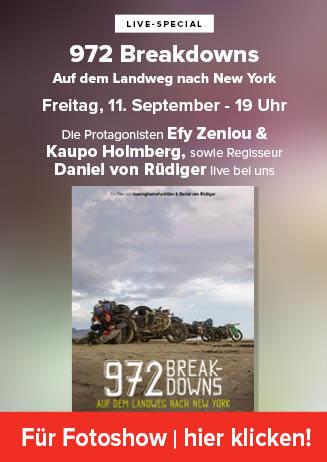 """Nachbericht """"972 Breakdowns..."""""""
