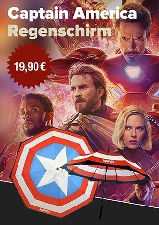 Regenschirm Captain America