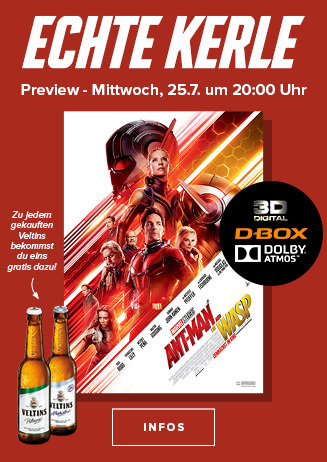 """Echte Kerle Preview: """"Ant-Man and the Wasp 3D"""""""