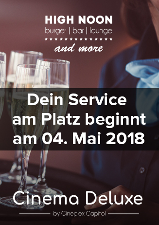 Cinema Deluxe mit Service am Platz