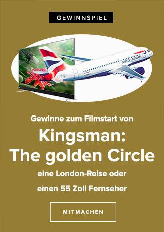Gewinnspiel zu KINGSMAN: THE GOLDEN CIRCLE