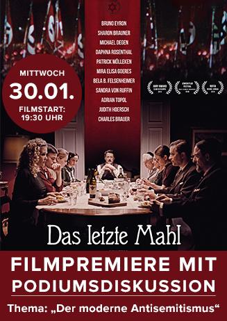 """Filmpremiere mit Podiumsdiskussion zu """"Das Letzte Mahl"""""""