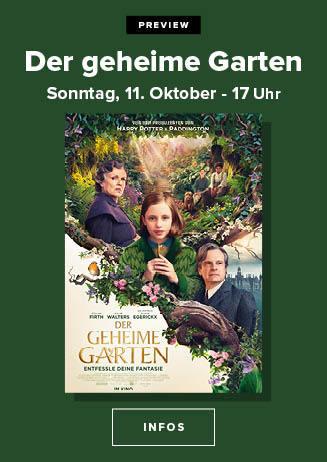 """201011 Preview """"Der geheime Garten"""""""