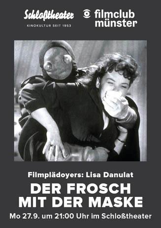 filmclub münster: DER FROSCH MIT DER MASKE