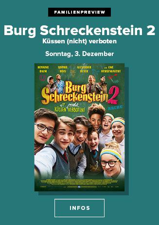 Familien Vorpremiere: BURG SCHRECKENSTEIN 2