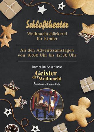 Weihnachtsbäckerei im Schloßtheater