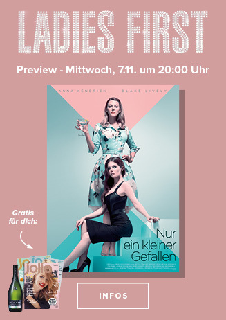 Ladies-First-Preview: NUR EIN KLEINER GEFALLEN