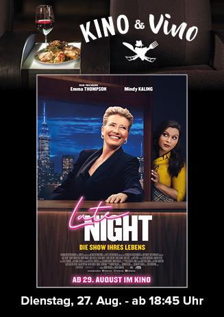 Kino & Vino: LATE NIGHT