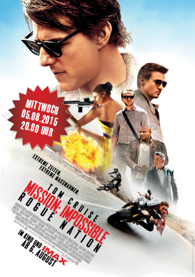 """Preview """" Mission:Impossible Rogue Nation"""