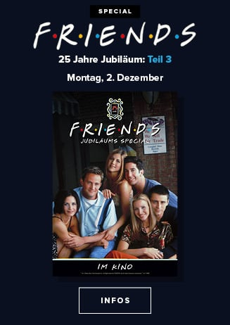 Friends 25 Jahre Jubiläum Teil 3