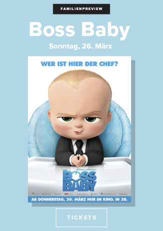 Familien-Preview: BOSS BABY