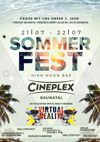 Sommerfest im Cineplex Baunatal