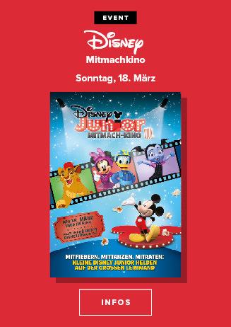 Familienkino: Disney Junior Mitmach-Kino
