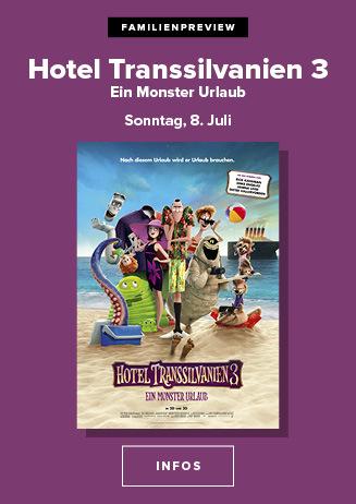 """Familienpreview """"Hotel Transsilvanien 3 - Ein Monster Urlaub"""""""